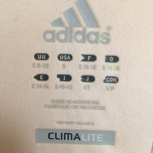 adidas Tops - Adidas race top yellow track tank top razor back